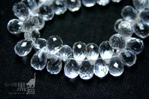 水晶 ドロップカット2